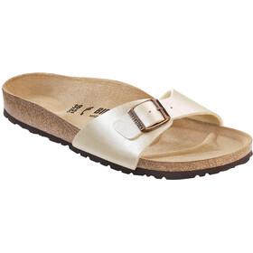 Birkenstock Madrid Sandals Birko-Flor Narrow Women, graceful pearl white